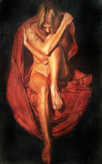 Lato 54x37 Super Huge Original Painting - Tomasz Rut