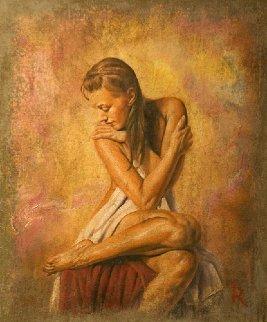 Adoranda 2015 25x21 Original Painting - Tomasz Rut