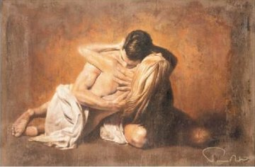 Incipesso 20x32 Original Painting by Tomasz Rut