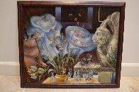 Gargoyle's Dream 2001 22x26 Original Painting by Vladimir Ryklin - 1