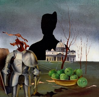 Defender of the Faith 1988 19x19 Original Painting by Vladimir Ryklin