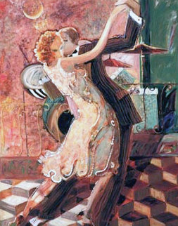 Tango For Two 2000 Embellished Limited Edition Print by  Sabzi