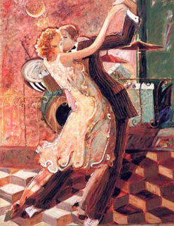 Tango For Two AP 2001 Embellished Limited Edition Print -  Sabzi