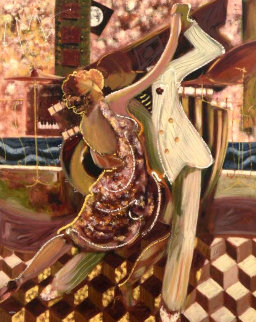Tango II 2001 Huge Limited Edition Print -  Sabzi