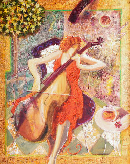 Sonata Embellished Super Huge Limited Edition Print -  Sabzi