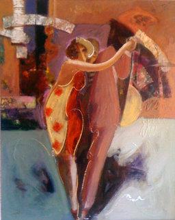 Passionate Dance 2001 76x64 Original Painting by  Sabzi