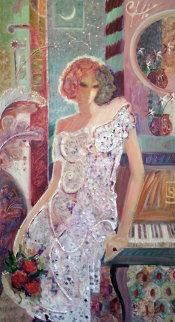 Constellation of Desire 1999 71 x 41 Original Painting -  Sabzi