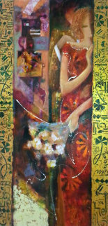Manifesto of Romance 2003 60x30 Original Painting by  Sabzi