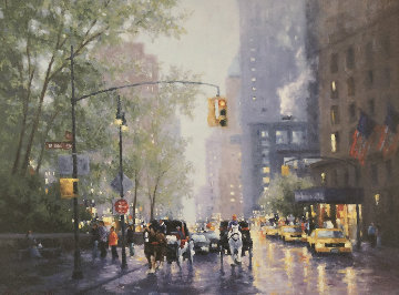 NYC Carriages Limited Edition Print - Brian Sage