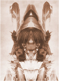 Wesakechak: The Trickster Limited Edition Print - Buffy  Sainte-Marie