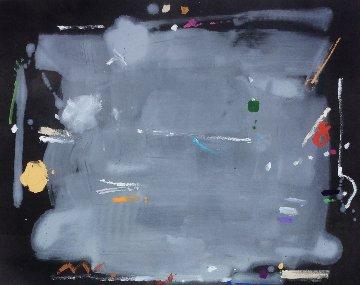 Mccoy's Moon 1989 37x46 Original Painting - Kikuo Saito