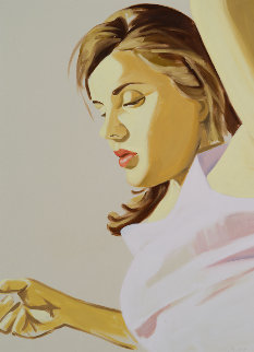Woman With Raised Arm 2020 Limited Edition Print by David Salle