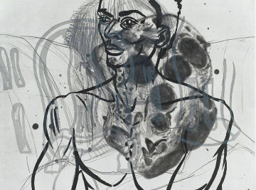 Untitled Etching 1986 Limited Edition Print by David Salle