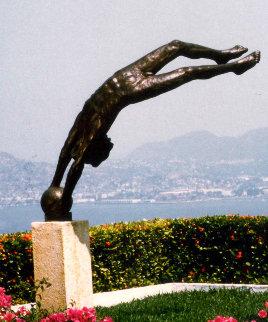 Cosmos Bronze Life Size Sculpture 100 in Sculpture - Victor Salmones