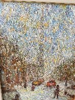 Rue  St. Denis 1997 40x34 Huge Original Painting by Samir Sammoun - 2