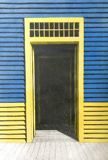 Puerta Armarilla AP Limited Edition Print - Emilio Sanchez