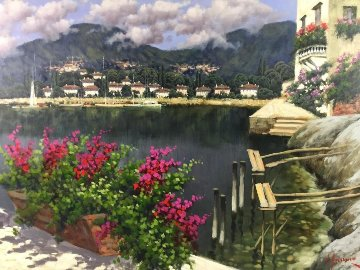 Untitled Painting 36x47 Original Painting - Antonio Sannino