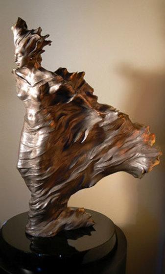 Before the Dance Nickel Bronze Sculpture AP 1998 28 in Sculpture by Roberto Santo