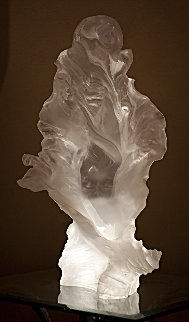 Untitled Lucite Sculpture AP 29 In Sculpture - Roberto Santo