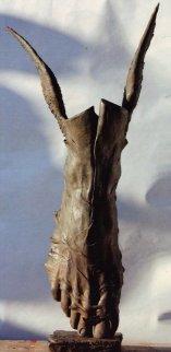 Flight of Mercury Bronze Sculpture 2006 83 in  Sculpture - Roberto Santo