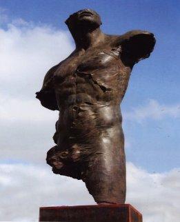 Torso 220 Life Size Bronze Sculpture 2006 Sculpture by Roberto Santo