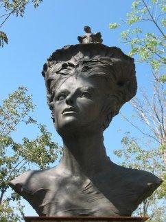 Unknown Dreams Bronze Sculpture 102x80 in Sculpture by Roberto Santo