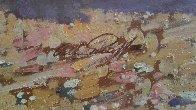 Stagecoach Robbery 34x46 Original Painting by Arthur Sarnoff - 6