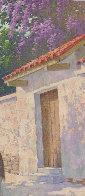 Cuernavaca in Full Bloom 30x25 Original Painting by Arthur Sarnoff - 5