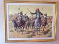 Geronimo Original Painting by Arthur Sarnoff - 1