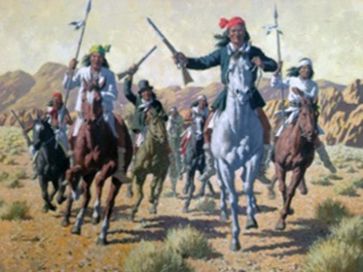 Geronimo Original Painting by Arthur Sarnoff