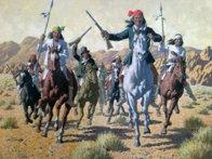 Geronimo Original Painting by Arthur Sarnoff - 0