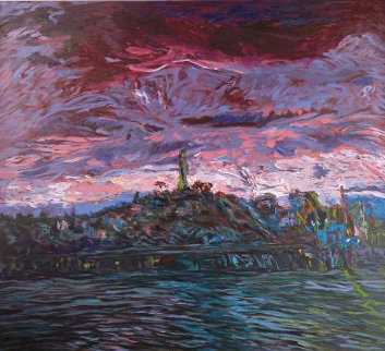 Coit Tower 1989 Limited Edition Print by Marco Sassone