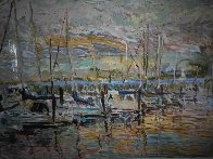 Pier Thirty Nine AP 1987 Limited Edition Print by Marco Sassone - 2