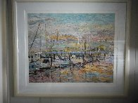 Pier Thirty Nine AP 1987 Limited Edition Print by Marco Sassone - 1