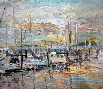 Pier Thirty Nine AP 1987 Limited Edition Print by Marco Sassone