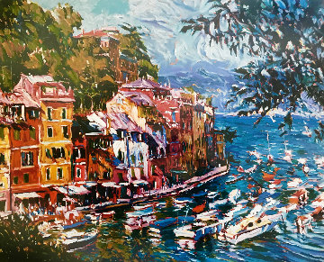 Mediterranean Vista 1992 Limited Edition Print by Marco Sassone