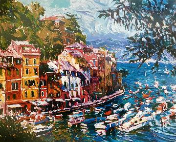Mediterranean Vista 1992 Limited Edition Print - Marco Sassone