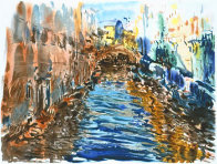 Santa Lucia 1990 (Canal) Limited Edition Print by Marco Sassone - 0