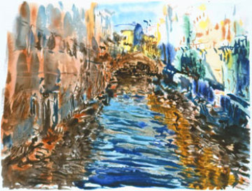 Santa Lucia 1990 (Canal) Limited Edition Print by Marco Sassone