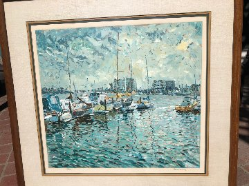Newport 1981 Limited Edition Print - Marco Sassone