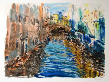 Santa Lucia Limited Edition Print by Marco Sassone
