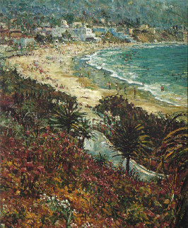 Laguna  1977 38x32 Super Huge Limited Edition Print - Marco Sassone