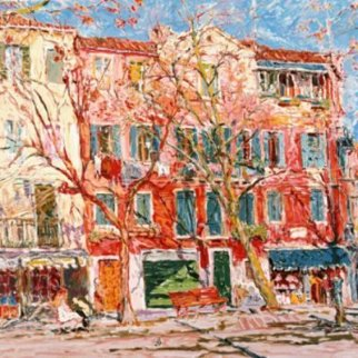 Hotel Gardena 1985 40x49 Super Huge  Limited Edition Print - Marco Sassone
