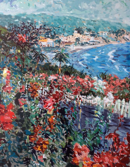 View From Victor Hugo Laguna Beach 1979 Limited Edition Print by Marco Sassone