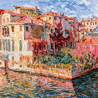 Venetian Garden AP 1984 Limited Edition Print by Marco Sassone - 1