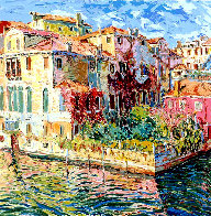 Venetian Garden AP 1984 Limited Edition Print by Marco Sassone - 0
