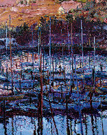 Chapel At Tiburon AP  1987 Limited Edition Print by Marco Sassone - 0