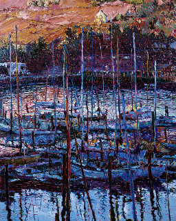 Chapel At Tiburon AP  1987 Limited Edition Print by Marco Sassone