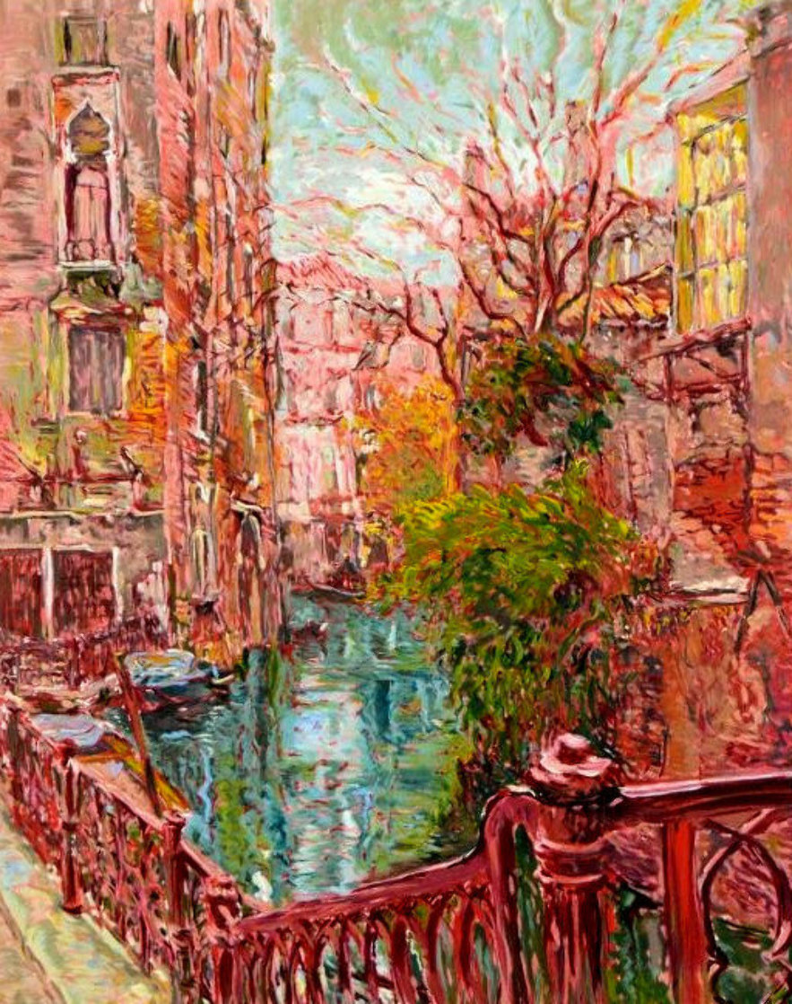 Venice Reflections 1986 Limited Edition Print by Marco Sassone