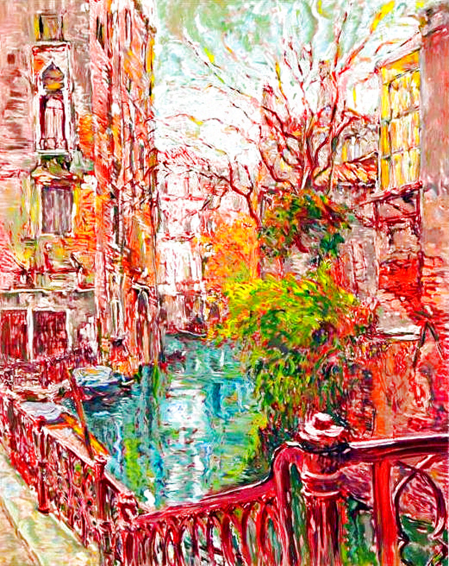 Venice Reflections Limited Edition Print by Marco Sassone